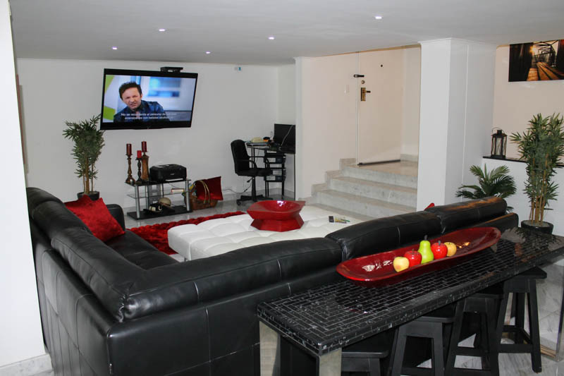 Luxury Living Room, Apartment for Rent, Medellin