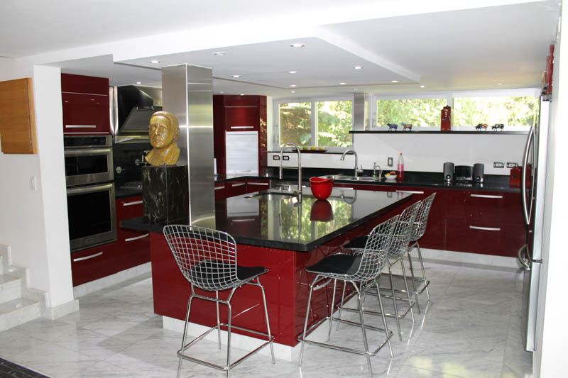 Luxury Eat-In Kitchen, Apartment for Rent, Medellin, Colombia