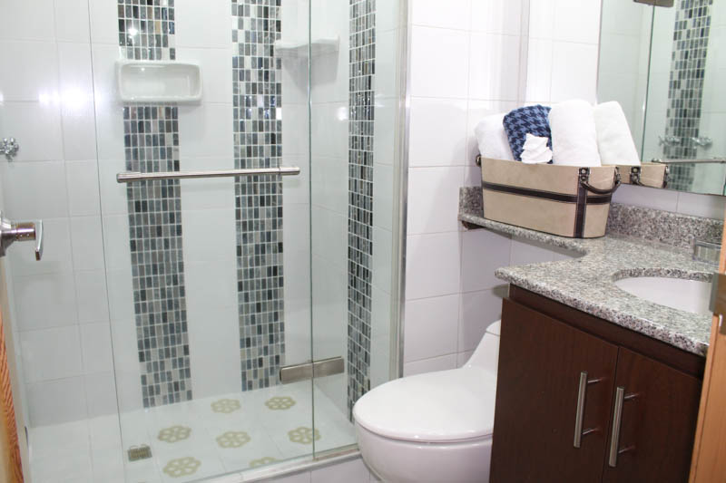 Luxury Apartment Bathroom in Medellin Apartment for Rent