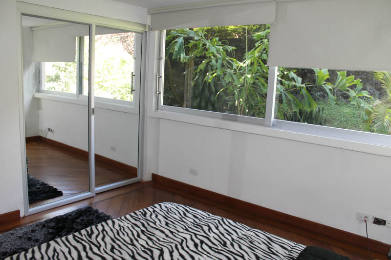 Luxury apartment in Medellin, bedroom