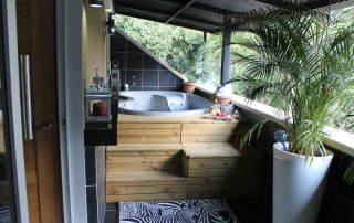 Hot Tub at San Marino apartment for rent in Medellin, Colombia