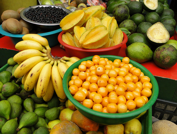 fruits in medellin