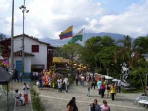 Community Gathering Place in Medellin, Colombia