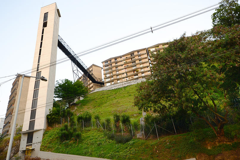 High rise apartment building in Medellin