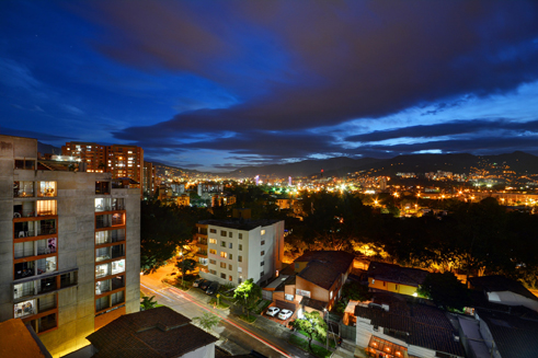 View from Astorga Duplex for rent in Medellin