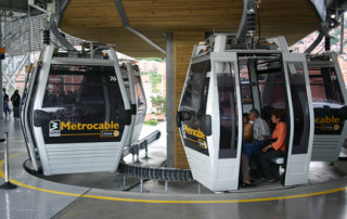 Metrocable Cable Car in Medellin