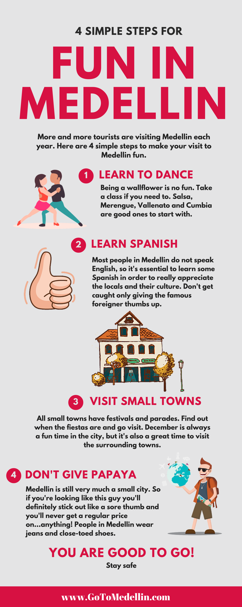 4 Steps to Fun in Medellin