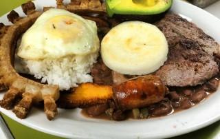 Bandeja Paisa medellin food