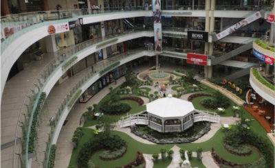 Image of local shopping mall
