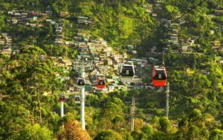 Senior Destination, Medellin Cable Car