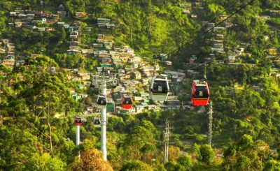 Senior Destination, Medellin Cable Car